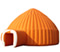 Inflatable tents, Inflatable yurt tent, Inflatable camping tent