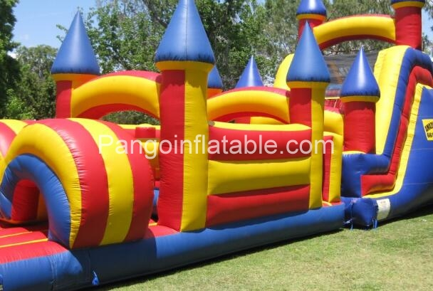 How can you choose a right inflatable obstacle course
