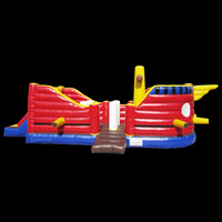 [GL023]inflatable bouncer slide sale