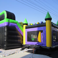 inflatable bouncer slide comboGB495