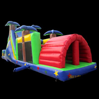 [GE089]Inflatable Obstacles Course