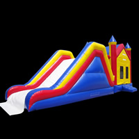 [GB487]inflatable bouncer slide