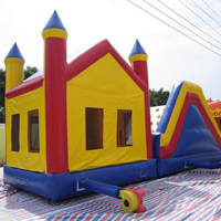 inflatable bouncer slideGB487