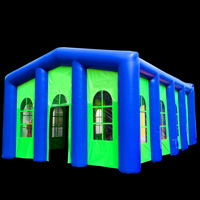 Inflatable house tentGN094