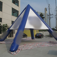 Blue Red Bull inflatable tentGN092B
