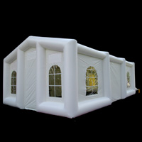 [GN097]white inflatable tent
