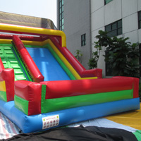 Backyard inflatable slideGI105
