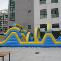 inflatable obstacles courseGE033