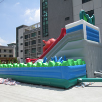 inflatable Dinosaur slide combinationGF095