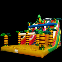 inflatable Small dinosaur slideGI161