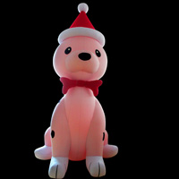 Inflatable cartoon dogGC051