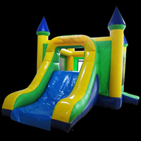 inflatable bouncer slide combinationGB500