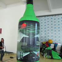 Inflatable shape of bottlesGC128