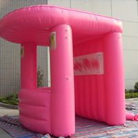pink Advertising inflatable tentGN087