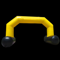 yellow inflatable archesGA150