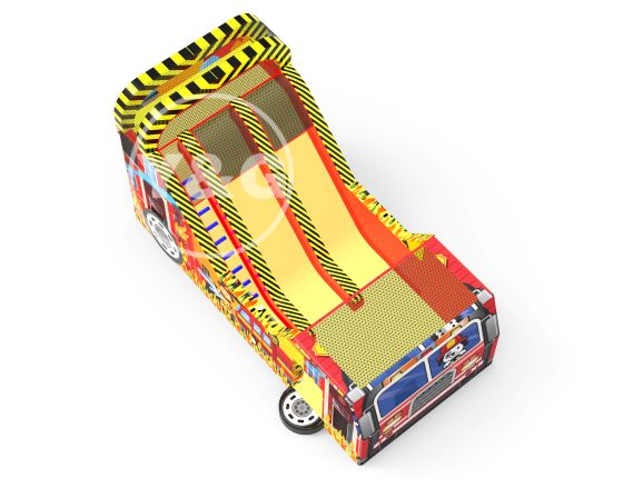 Fire Engine Inflatable Obstacle GameYG-038