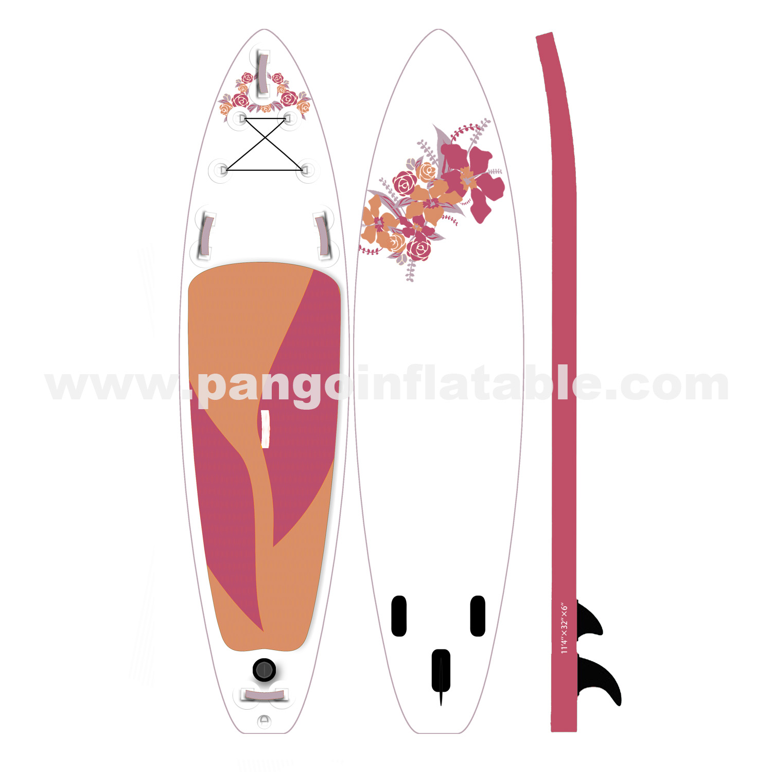 Flower Inflatable Paddle BoardYG-020
