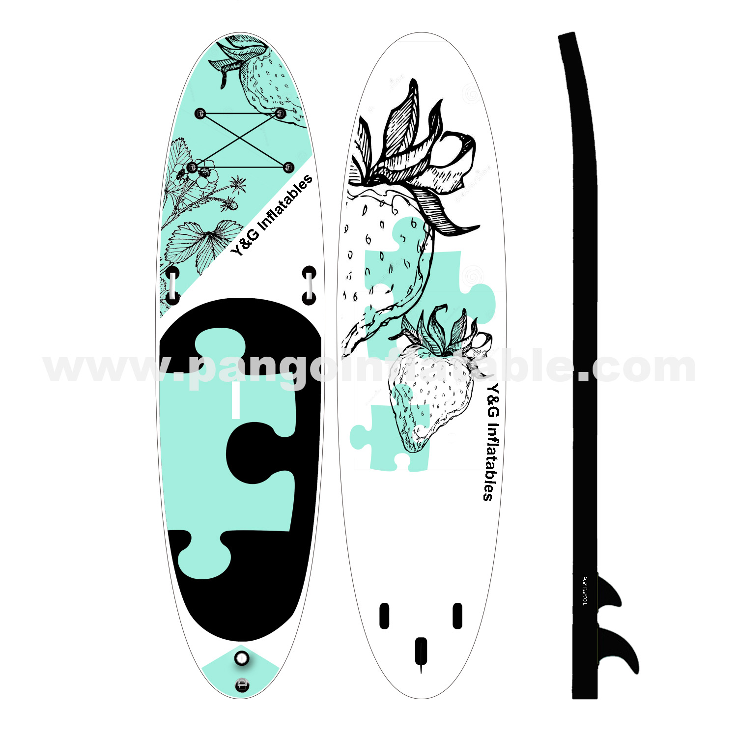 The Puzzle Inflatable Paddle BoardYG-006