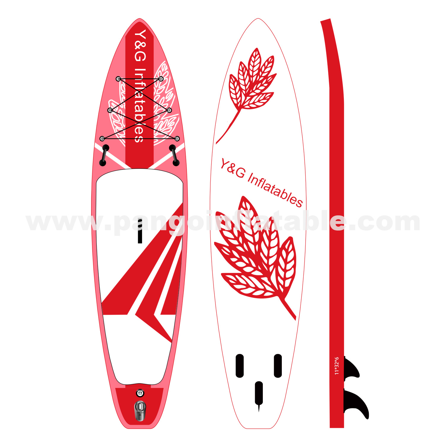 Red Paper Plane Inflatable SupYG-008