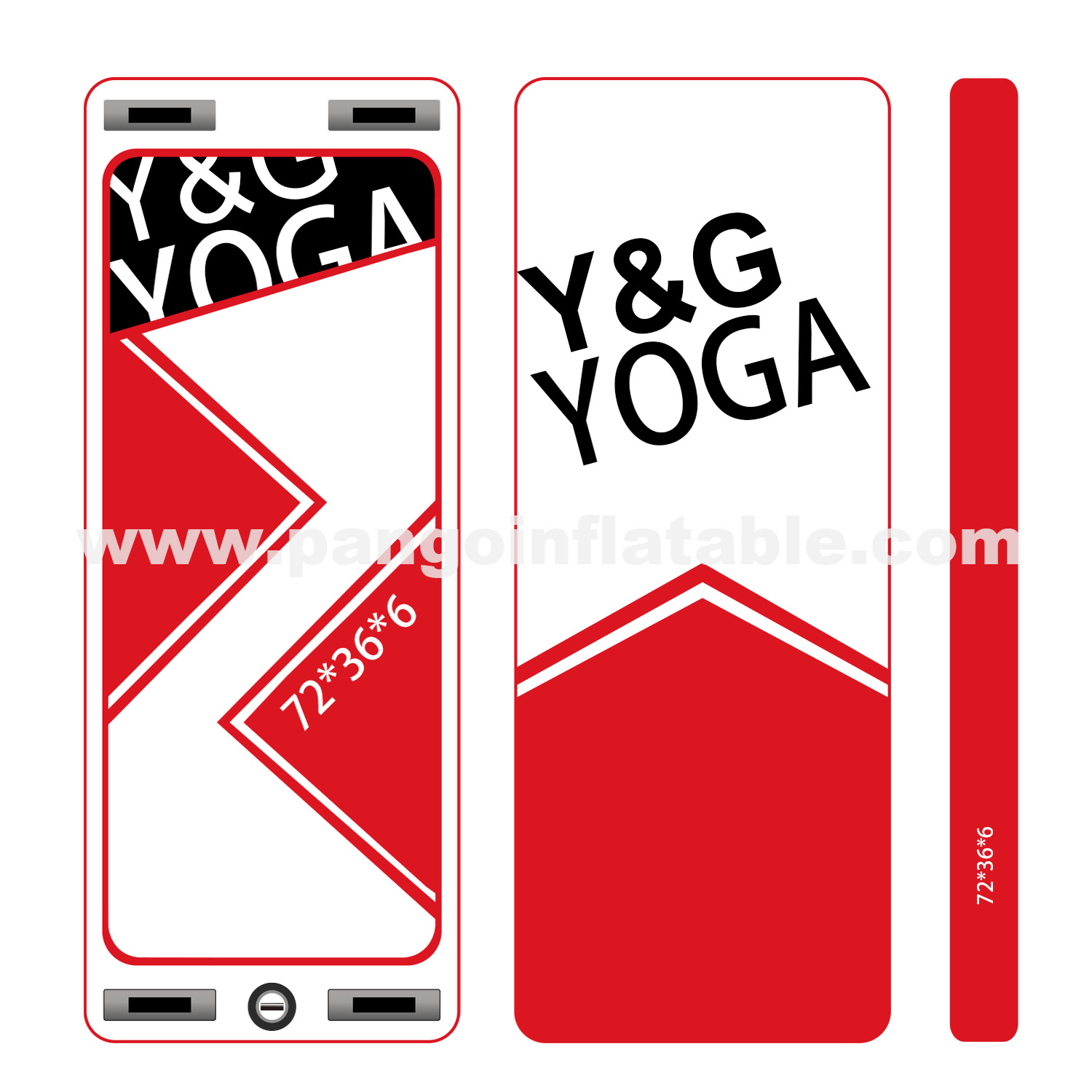 Inflatable Yoga Paddle BoardYG-009
