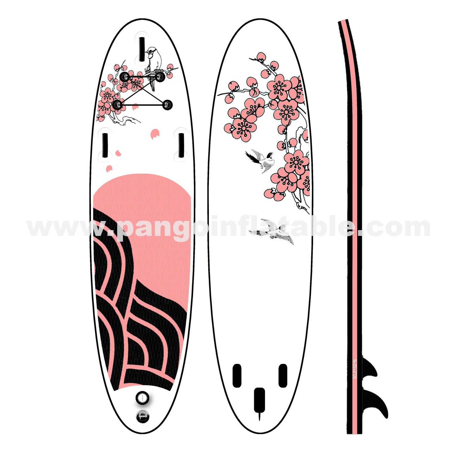 Chinoiserie Inflatable Paddle BoardYG-010