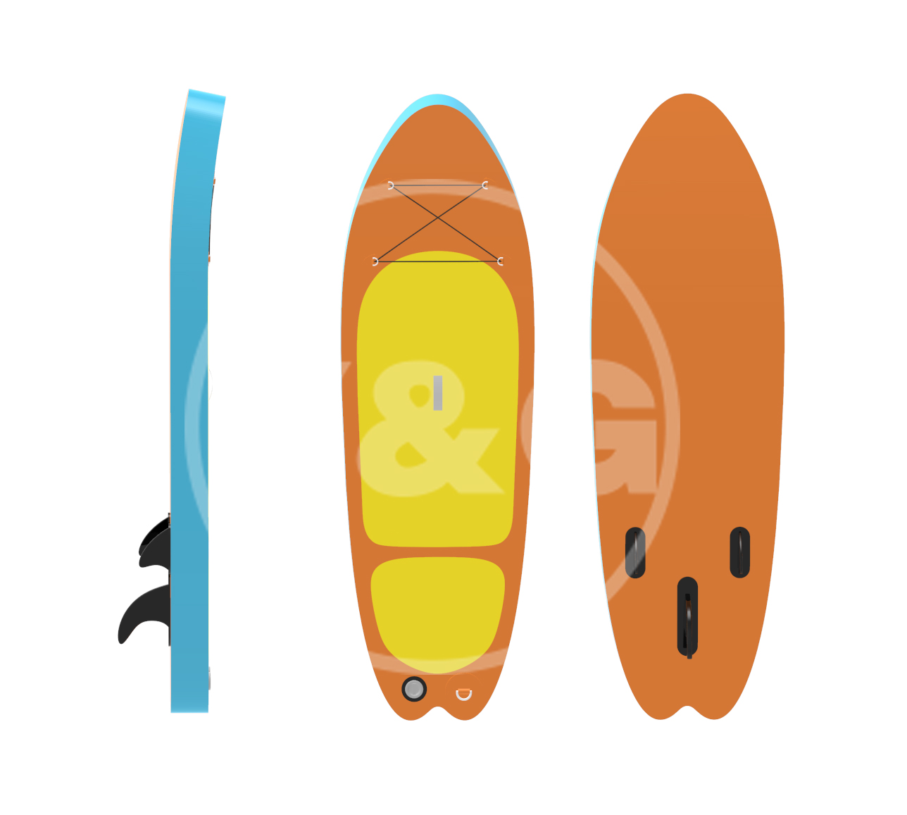 Kid inflatable paddle boardYOD-02