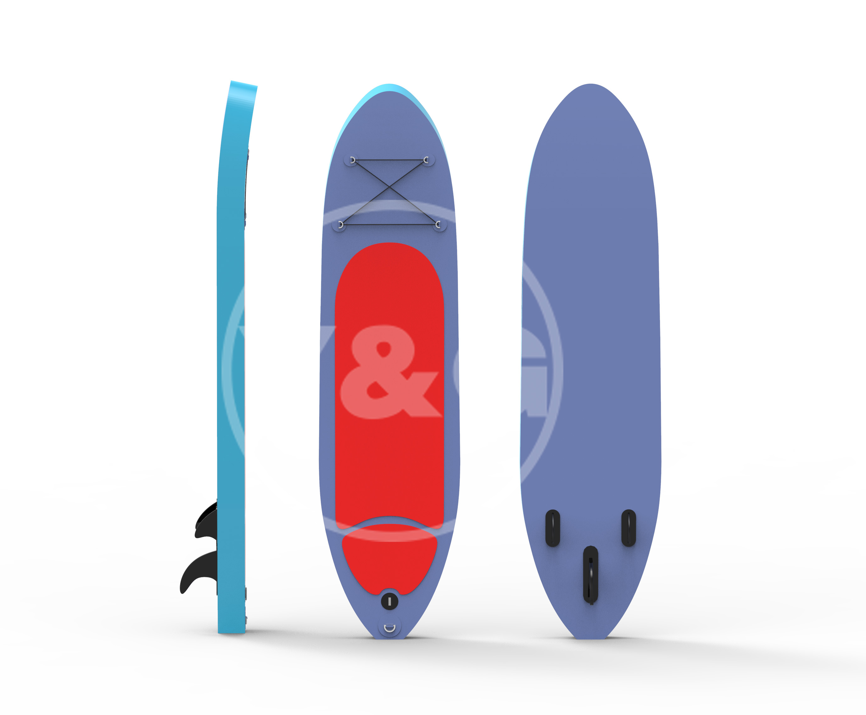 Colorful Inflatable paddle boardYOD-004