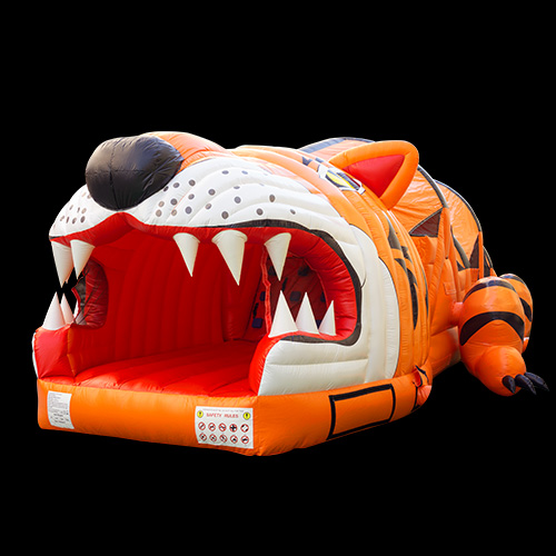 The big tiger kids inflatable obstacleYGO Tigher