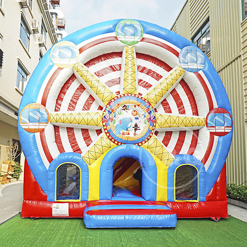 Wheel Park Giant Inflatable BounceYGC24
