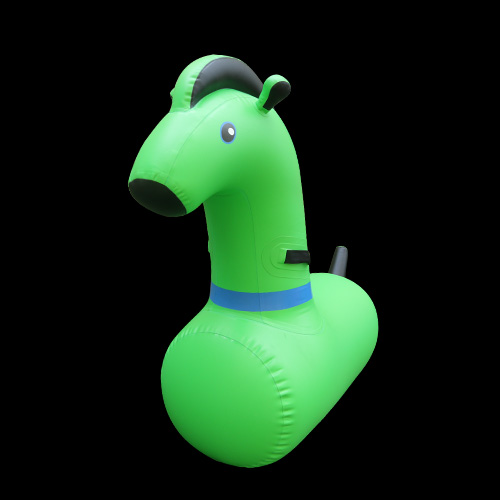 Inflatable Horse Riding Game PonyAKD115-Green