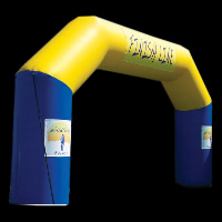 Double Color Inflatable ArchGA028