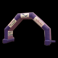 Purple Inflatable ArchGA083