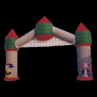 Bouncy Inflatable ArchGA115