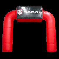 Red Inflatable ArchGA118