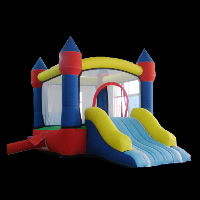 inflatables bouncers and slidesGB032