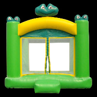 Green Inflatable BouncerGB140