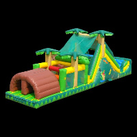 Rainforest Inflatable ObstacleGE068