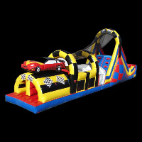 Car Shape Inflatable ObstacleGE069