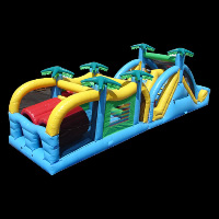 Rainforest Inflatable ObstaclesGE132