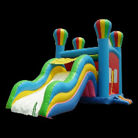 inflatable bounce slideGI006
