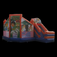 inflatable backyard bouncers toysGI048