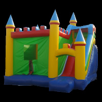 Inflatable Castle SlideGL040